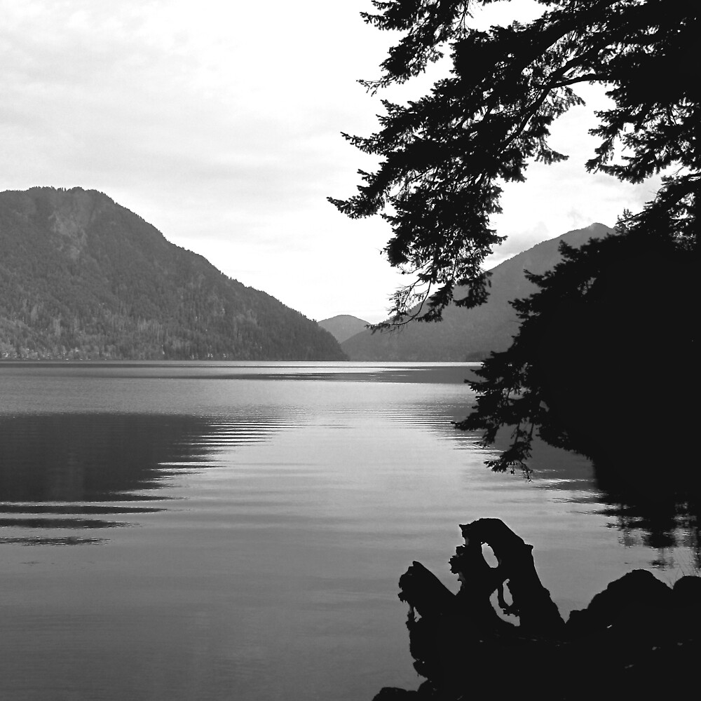 lake crescent, WA by bron stadheim
