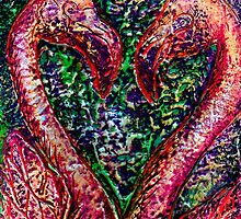 Hearts A'Flamingo by DReneeWilson
