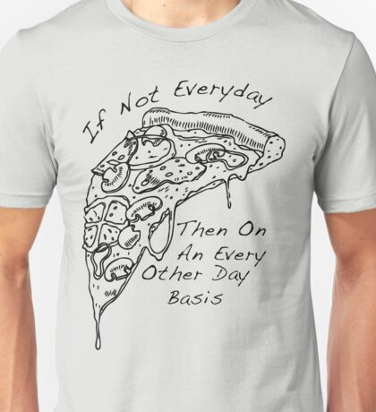 The Front Bottoms Pizza Unisex T-Shirt