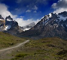 Road to Torres del Paine by Krys Bailey