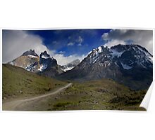 Road to Torres del Paine Poster