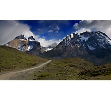 Road to Torres del Paine Photographic Print