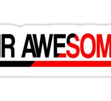 Mr Awesome Sticker