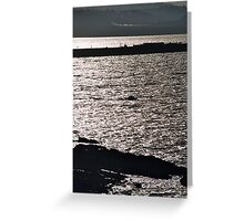 the beautiful coastlines  Greeting Card