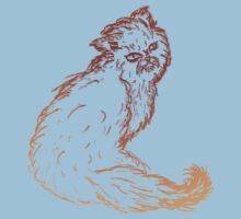 Persian Cat Sketch 2 Kids Clothes