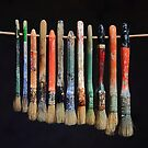 I hate cleaning brushes by Paul Pasco