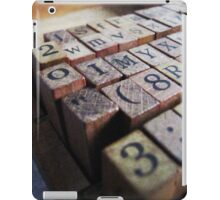 Writing the stories ... iPad Case/Skin