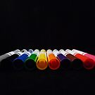 Rainbow Markers by Barbara Morrison
