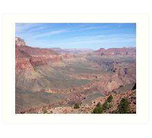 Grand Canyon Blue Sky Art Print