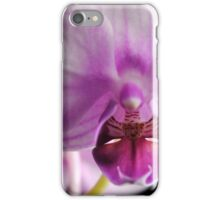 Moth Orchid Close Up iPhone Case/Skin