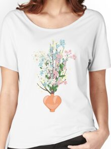 Spring Flowers in a Vase Women's Relaxed Fit T-Shirt