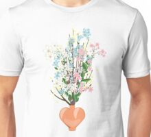 Spring Flowers in a Vase Unisex T-Shirt