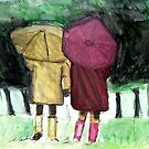 Two Umbrellas by RobynLee