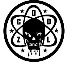 Zombie Labs Logo [CoD WaW/ Black Ops/ Black Ops II] Photographic Print
