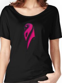 Strong / قوي (pink) Women's Relaxed Fit T-Shirt