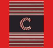 BROOKLINER BOSTON 1920s MONOGRAM initial  C Kids Clothes