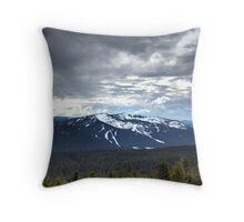 Cascade Mountains Throw Pillow