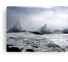 Atlantic Fury Canvas Print