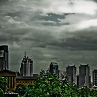 Philadelphia on a Stormy Day by Matt Gruber