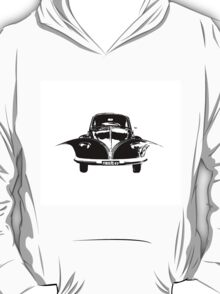 VW unzipped volkswagen beetle and camper T-Shirt