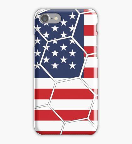 USA Football (Soccer) Design iPhone Case/Skin