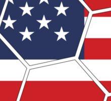 USA Football (Soccer) Design Sticker