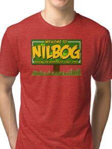Nilbog! Tri-blend T-Shirt