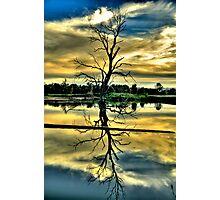 Meditation - Wonga Wetlands , Albury NSW - The HDR Experience Photographic Print