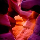Antelope Canyon HDR by Dick Paige