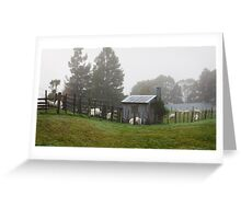 Mist on the Saddle Greeting Card