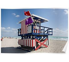 Life Guard House Poster