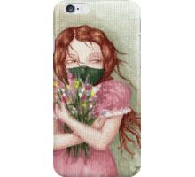 The Flower Thief iPhone Case/Skin