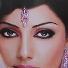 Asian beauty by shortarcasart