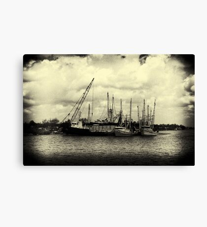 Nostalgic River Canvas Print