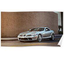 Mercedes-Benz SLR Poster
