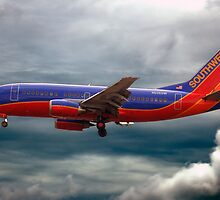 Southwest Airlines Boeing 737 by HoltPhotography