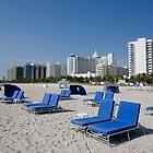 Recliners on South Beach by John Bergman