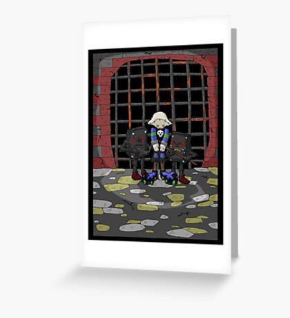 jak crow: captured... Greeting Card