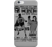 The Epic Duel iPhone Case/Skin