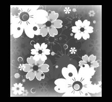 """""""Happiness"""" Floral Pattern / Avalon Media  by avalonmedia"""