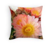 Soft And Prickly Throw Pillow