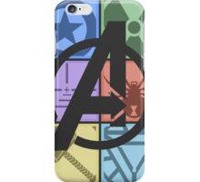 Team Avengers Assemble - Rectangular Design iPhone Case/Skin
