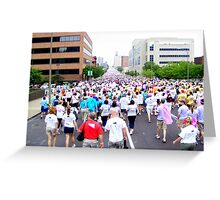 St. Louis Missouri Walk For The Cure!! Greeting Card