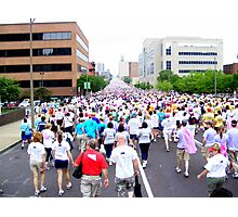 St. Louis Missouri Walk For The Cure!! Photographic Print