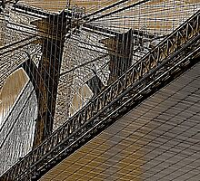 brooklyn bridge by bron stadheim