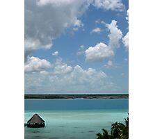7 Color Lagoon Photographic Print