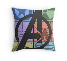 Team Avengers Assemble - Rectangular Design Throw Pillow