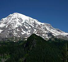 Mt. Rainier  by Barb White