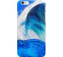 Sapphire Blue Ocean Wave iPhone Case/Skin