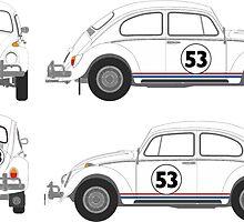 Just Herbie by Tiltedgiraffes